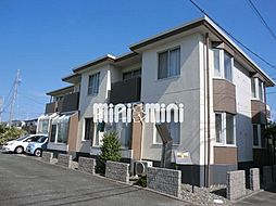 上島ロイドアパートC[2階]の外観