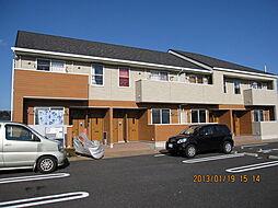 宮崎県小林市大字水流迫の賃貸アパートの外観