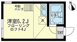 神奈川県横須賀市佐野町2丁目の賃貸アパートの間取り