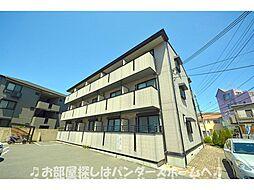 大阪府枚方市岡山手町の賃貸マンションの外観