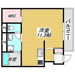 大阪市住吉区我孫子東1丁新築アパート[1階]の間取り