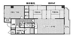 スタンドアップ土師ノ里[3階]の間取り