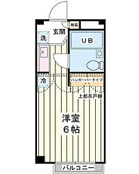 セインコラージュF[3階]の間取り