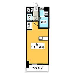 ソフィアOSK[2階]の間取り