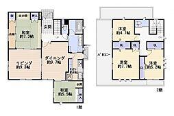 [一戸建] 神奈川県鎌倉市西鎌倉2丁目 の賃貸【/】の間取り