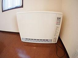 蓄熱暖房。