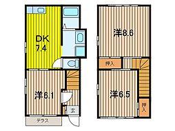 アルス・JK[1階]の間取り