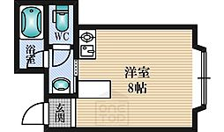 KSK江坂[3階]の間取り
