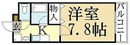 ルミネ四季彩館[1階]の間取り