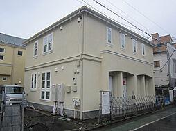東京都府中市八幡町2丁目の賃貸アパートの外観