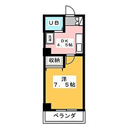 オルフェーブルナガタ[3階]の間取り