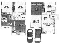 [一戸建] 兵庫県尼崎市南塚口町7丁目 の賃貸【/】の間取り