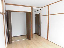 2階西側の洋室...