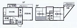 [一戸建] 神奈川県川崎市宮前区平1丁目 の賃貸【/】の間取り