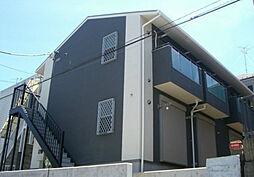 神奈川県横浜市泉区白百合1丁目の賃貸アパートの外観