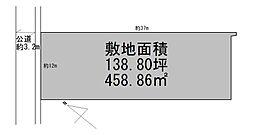 敷地の簡略図