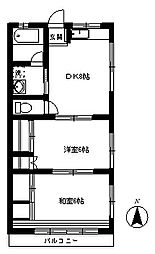 アネックスハイム[2階]の間取り