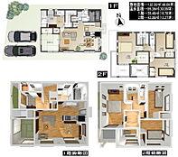 SOLEIL香芝7期-旭ヶ丘北F号地モデルハウス-
