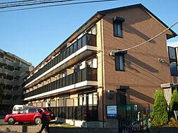 神奈川県川崎市中原区下小田中2丁目の賃貸アパートの外観