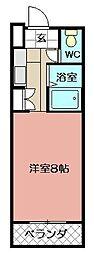 ビブレ西小倉B館 603号[603号室]の間取り