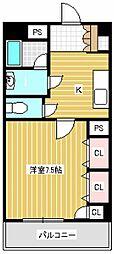 ハビタット351[1階]の間取り