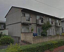 滋賀県湖南市中央4丁目の賃貸アパートの外観