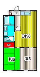 小川第一ビル[3階]の間取り
