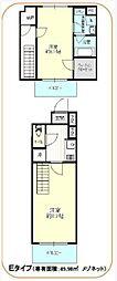 都営三田線 西巣鴨駅 徒歩3分の賃貸マンション 4階2Kの間取り