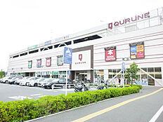 ショッピングセンタークルネ 約270m