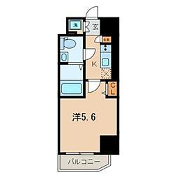 ザ・レジデンス横浜青木橋[4階]の間取り