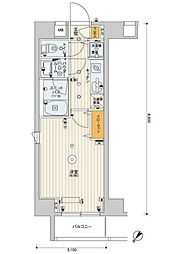 スカイコートパレス押上第2[4階]の間取り