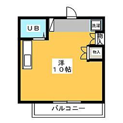 アーバンCOCO[2階]の間取り
