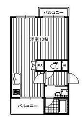 メゾン花の木[2階]の間取り