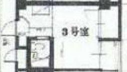 松崎マンション千船ビル[303号室]の間取り
