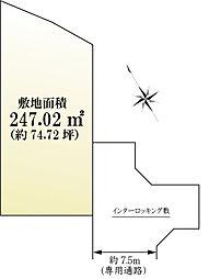 2号地 区画図