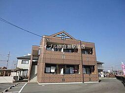 岡山県総社市三輪丁目なしの賃貸アパートの外観