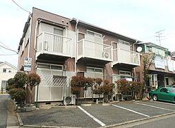 東京都練馬区下石神井1丁目の賃貸アパートの外観