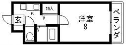 ヴィガ中央長田[702号室号室]の間取り