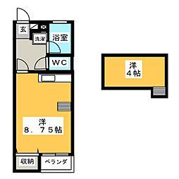 エクセル・ユキ[2階]の間取り