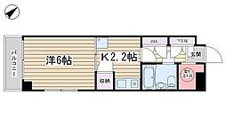 ライオンズマンション駒込六義園[609号室]の間取り