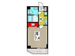 AZEST西川口II[7階]の間取り