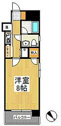 ローズガーデンI[11階]の間取り