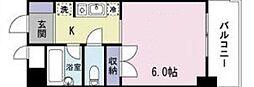 神奈川県大和市南林間1丁目の賃貸マンションの間取り