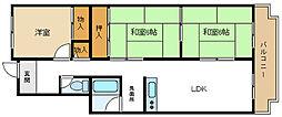 T・メゾンシャルマントI[2階]の間取り