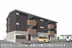 福岡県北九州市小倉南区富士見2丁目の賃貸アパートの外観