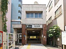 駅 東京都交通局「西大島」駅・400