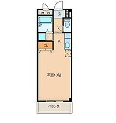 サンハイムASAHI[1B号室]の間取り