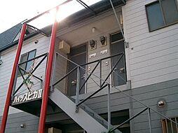 福岡県福岡市中央区黒門の賃貸アパートの外観