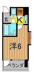 クリオ西川口壱番館[1階]の間取り