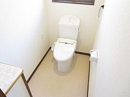 1階のトイレは...